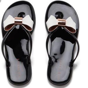 Ted Baker | jelly flip flops